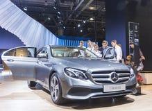 Salone internazionale dell'automobile immagine stock