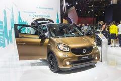 Salone internazionale dell'automobile immagini stock