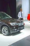 Salone internazionale dell'automobile di BMW X3 Mosca Immagine Stock