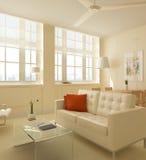 Salone interno Fotografie Stock