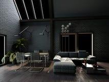 Salone interno Fotografia Stock