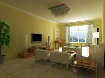 Salone interno Immagine Stock
