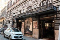 Salone Margherita teatr w Rzym Obrazy Stock
