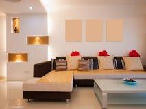 Salone moderno Immagine Stock