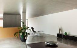 Salone moderno Fotografie Stock Libere da Diritti