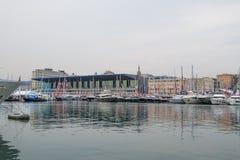 Salone Nautico, Genua, Italien 2017 Stockbild