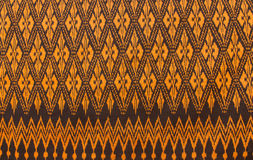 Salong. Striped of Isan Thailand ,This  Striped are Ancient pattern Royalty Free Stock Images