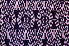 Salong. Striped of Isan Thailand ,This  Striped are Ancient pattern Stock Image