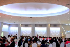 Salong de eventos Royaltyfri Fotografi