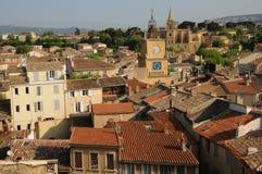 salong för stadsde provence royaltyfria foton