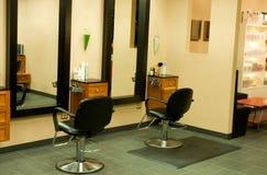 salong för 5 hår Arkivbilder