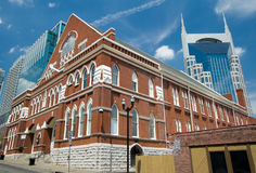 salong nashville ryman tennessee Royaltyfri Foto