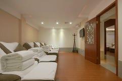 Saloni di massaggio fotografie stock