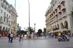 Salonicco Grecia Fotografia Stock Libera da Diritti