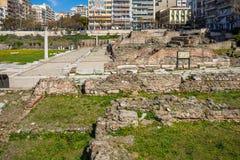 10 03 2018 Saloniki, Grecja - Osmański bathhouse Bey Hamam lo zdjęcie royalty free