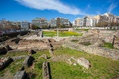 10 03 2018 Saloniki, Grecja - Osmański bathhouse Bey Hamam lo obrazy royalty free