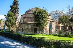 10 03 2018 Saloniki, Grecja - Osmański bathhouse Bey Hamam lo zdjęcia royalty free