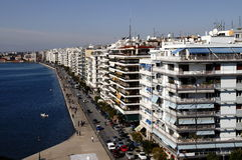 Saloniki, Griechenland stockfotografie