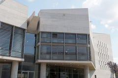 Saloniki, Griechenland - 4. September 2016: Saloniki-Rathaus-Gebäudedetail Lizenzfreie Stockfotografie