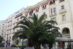 SALONIKI, Griechenland, Stadtzentrum, Solun Stockfotos