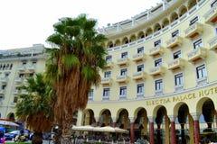 Saloniki-Hotels Stockbild