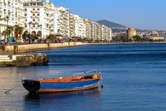 Saloniki nabrzeże obrazy royalty free