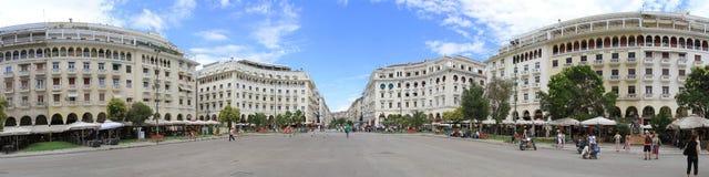 Saloniki panorama Fotografia Royalty Free