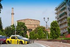 Saloniki punkty zwrotni Grecja Zdjęcie Stock