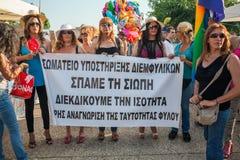 Saloniki-Stolz 2013 - Griechenland Lizenzfreies Stockbild