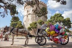 Saloniki-Stolz 2013 - Griechenland Stockbilder