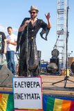 Saloniki-Stolz 2013 - Griechenland Stockfotos