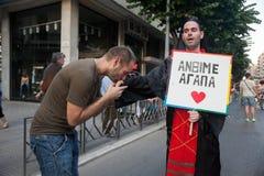 Saloniki-Stolz 2013 - Griechenland Lizenzfreies Stockfoto