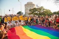 Saloniki-Stolz 2013 - Griechenland Lizenzfreie Stockfotos