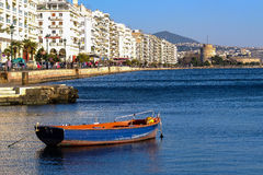 Saloniki-Ufergegend lizenzfreie stockbilder