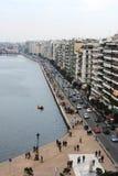 Saloniki wybrzeże Zdjęcie Stock