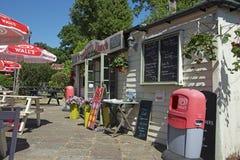 Salons de thé au vieux village Shanklin Image stock