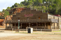 Saloon. A saloon background for photos Stock Images