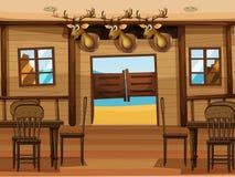 A saloon bar Stock Photo