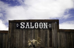 Saloon bar Stock Photo