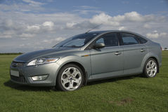 Saloon car. Royalty Free Stock Images