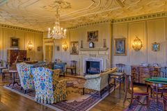 The Saloon, Croft Castle, Herefordshire. Royalty Free Stock Photo