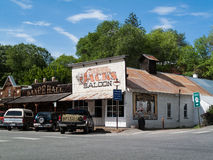 Saloon and dance hall in Winthrop Stock Photos