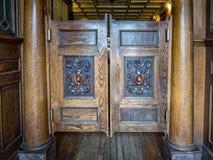 Saloon doors Stock Photo