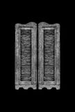 Saloon doors. Royalty Free Stock Photography