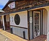 A Saloon Entrance in an Old Restaurant Stock Photography