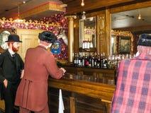Saloon with wax, Alaska Stock Image