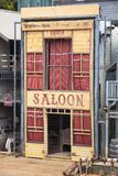 Saloon in Wild West style Stock Photo