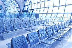 salotto dell'aeroporto Immagine Stock