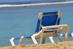 Salotto di Sun della spiaggia Fotografia Stock