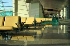 Salotto esecutivo ad un aeroporto Fotografie Stock Libere da Diritti